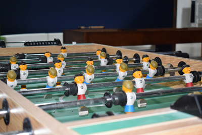 ERC foosball table